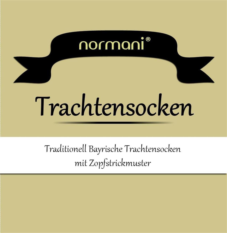 Circle Five Lange Trachtensocken Trachten Str/ümpfe f/ür Lederhosen Kniebund Socken Natur