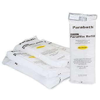 Amazon com: Parabath Paraffin Wax Refill for Hands & Feet, Bulk 6