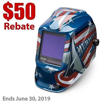 Lincoln eléctrica Viking 3350 todos los American casco de soldadura ...