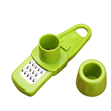 Vastrang Sarees Stainless Steel Multi Functional Ginger Garlic Cutter, Mini Size Graters & Slicers at amazon