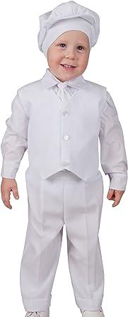 Boutique-Magique Costume b/éb/é gar/çon Complet Mariage bapt/ême