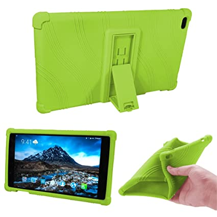 big sale 7eae1 2a30f Lenovo TAB 4 8 Kids Case - Light Weight Shock Proof Soft Silicone Back  Cover [Kids Friendly] for Lenovo TAB 4 8 TB-8504F TB-8504N Tablet, (Green)