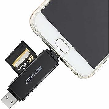 BC Master Lector de Tarjetas USB 3.0 con 2 en 1 SD/Micro SD (TF ...