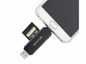 BC Master Lector de Tarjetas USB 3.0 con 2 en 1 SD/Micro SD ...