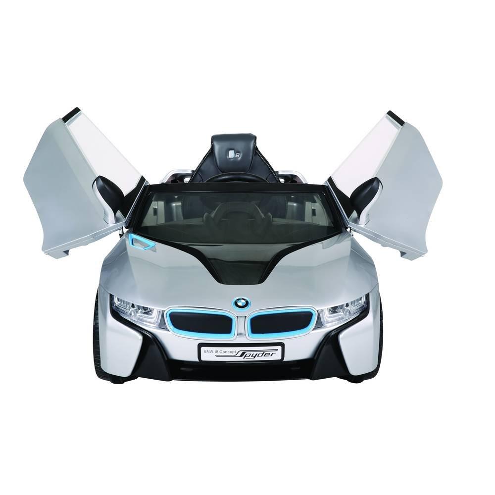 12V inkl Voiture-Batterie BMW i8 Argent d/ès 3 ans MP3 et t/él/écommande