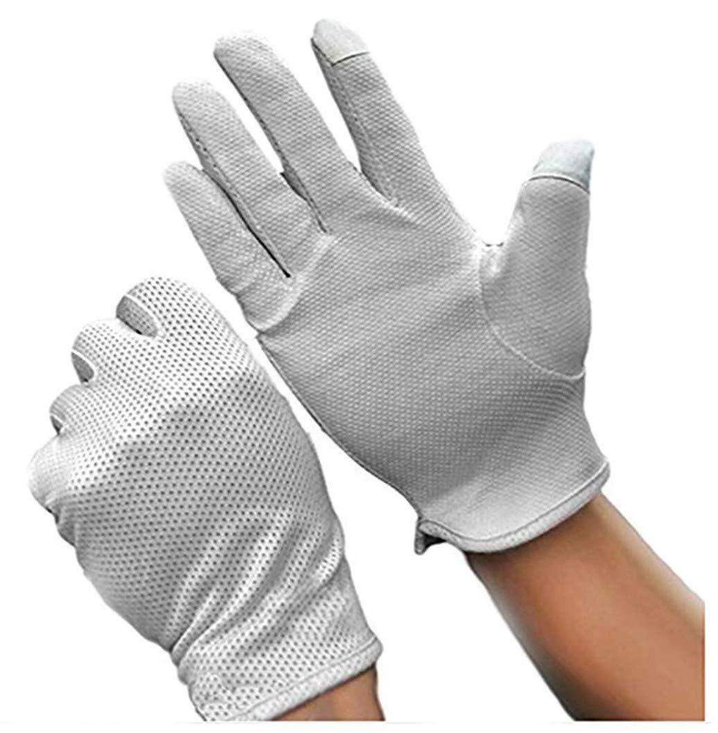 Teydhao Handschuhe Fitness Herren Hantel Arbeit Maxiflex Sommer Fahrhandschuhe Baumwolle rutschfeste Touchscreen Sonnenschutzhandschuhe f/ür Radfahren Motorrad Camping
