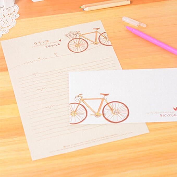 Conjunto de 5 sobres retro creativos sobres de boda/invitación ...