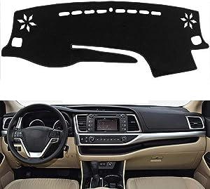 Autoxrun Dashboard Cover Dash Pad Car Dashboard Mat Sun Cover Shade Compatible with 2014-2018 Highlander