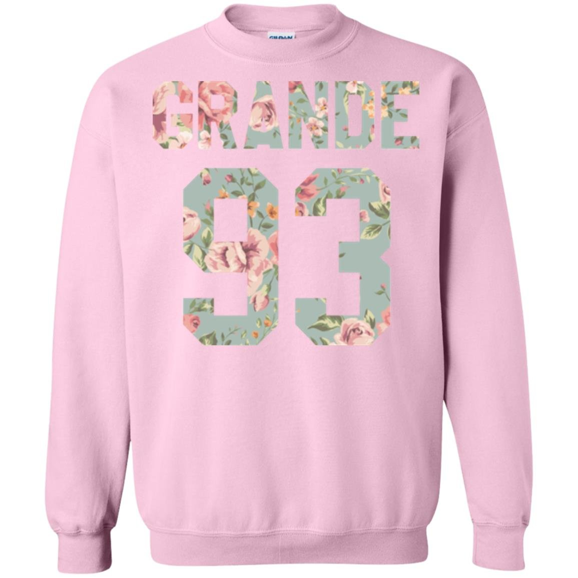 Hensley Collection Ariana Grande Sweatshirt, Dangerous Woman, 93 Birth Year, 1993 Flower Crewneck, Perfect World Tour Gift for The Arianator Fan