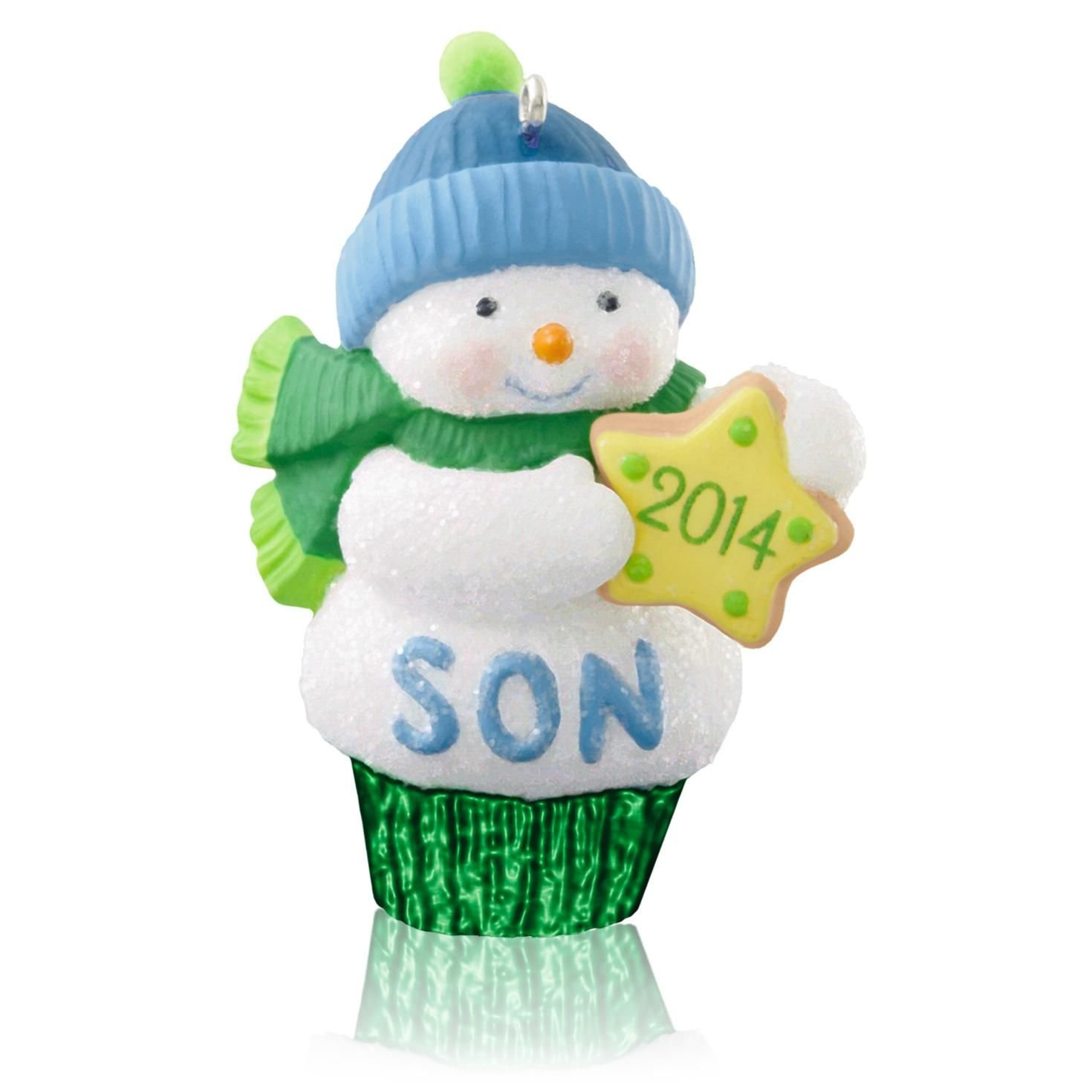 Amazon.com: 1 X Son - 2014 Hallmark Keepsake Ornament: Home & Kitchen