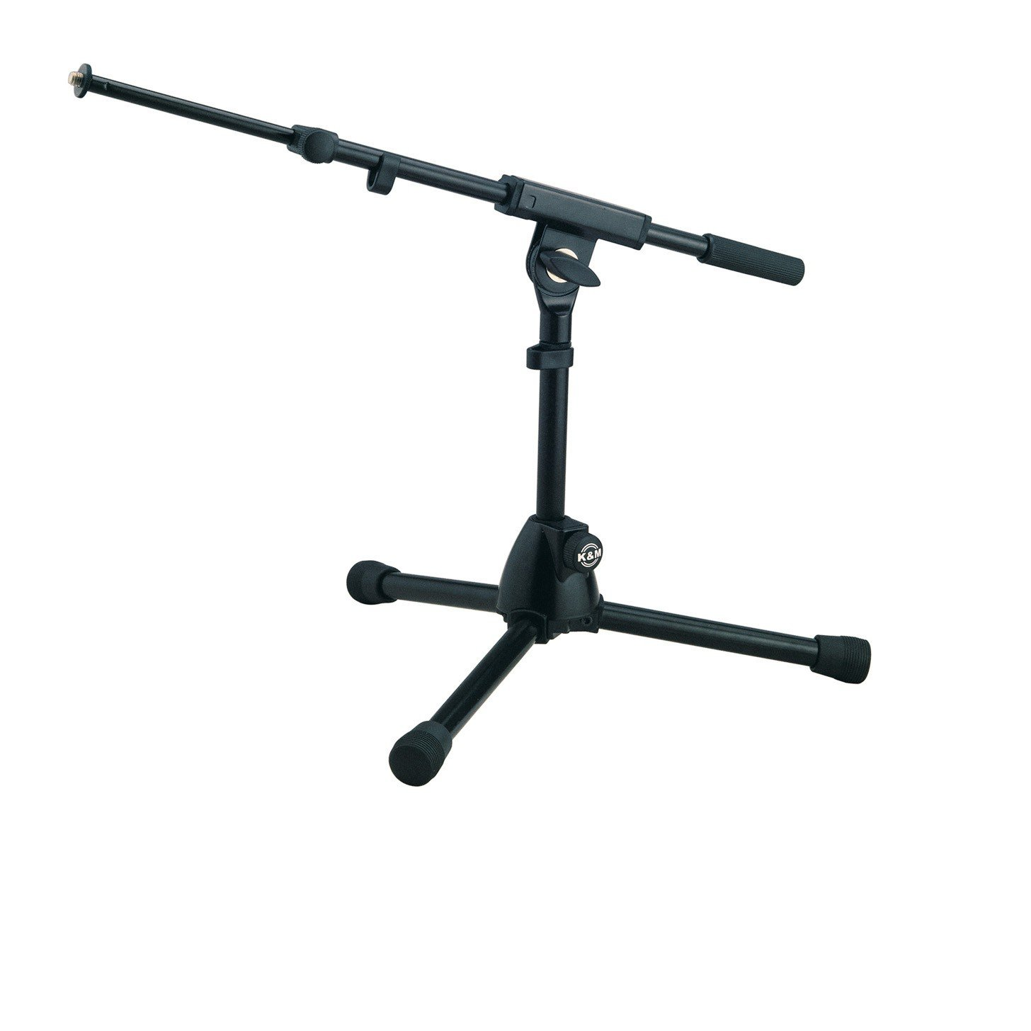 K&M Tour Grade Tripod Mic Stand with Weighted Short Legs for Kick Drum by K&M