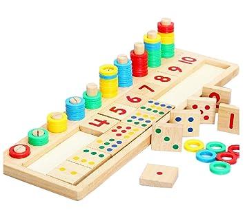 Montessori Material Didactico De Los Ninos Para Ensenar Matematicas