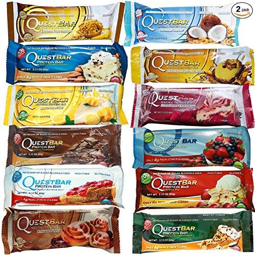 Quête Quête Nutrition Protein Bar Variété 24 Pk.