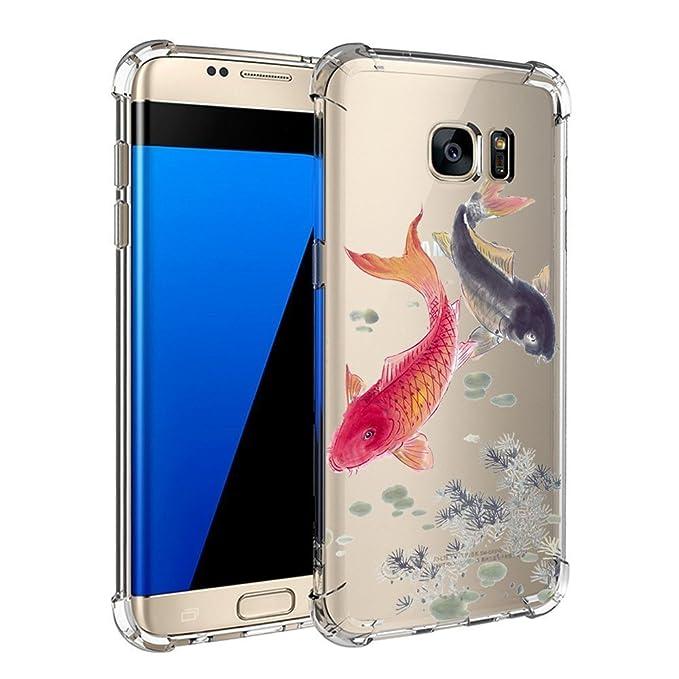 Carcasa Samsung Galaxy S6 TPU Transparente Funda Cubierta de ...