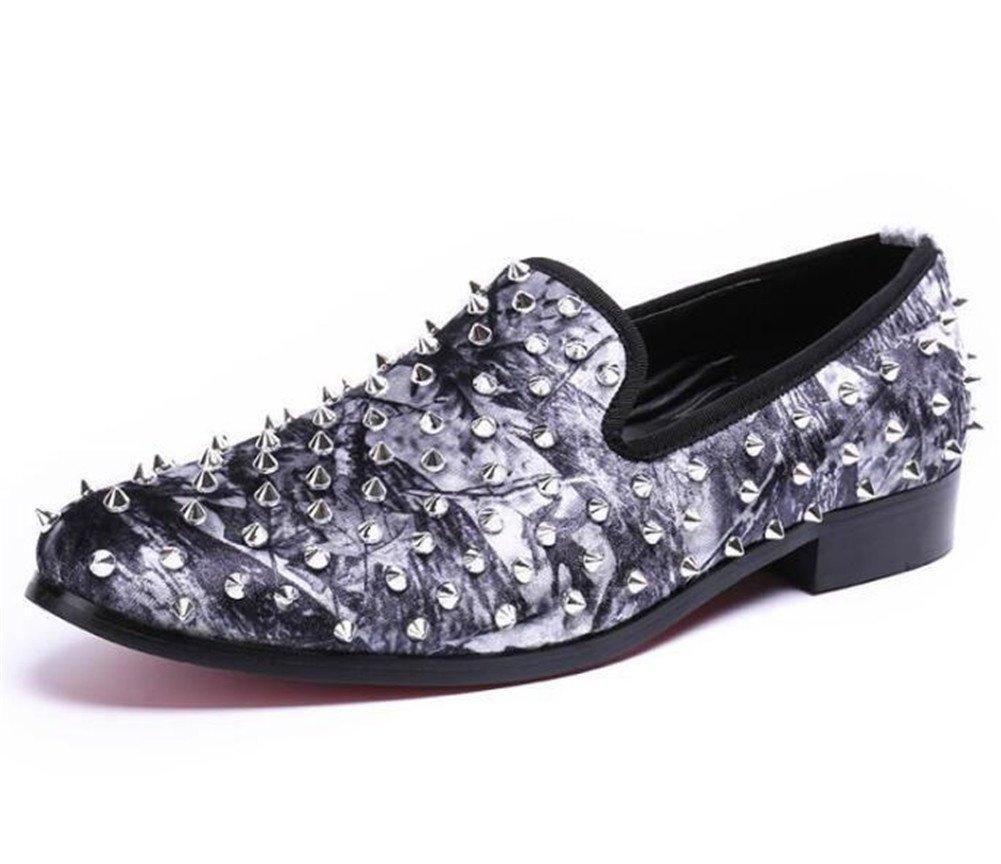 Zapatos de hombre Mocasines Negocio Formal Remache Espectáculo Diamante de imitación Club nocturno DJ Impresión Tamaño 38 a 45 , EU42 EU42