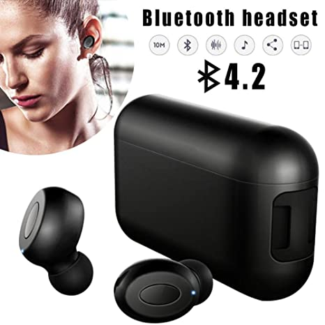 Auricular inalámbrico Bluetooth TWS Auricular inalámbrico Bluetooth Binaural Mini In-ear Sports Music Auricular Bluetooth