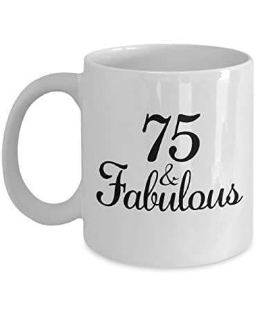 Image Unavailable Not Available For Color 75th Birthday Gifts Ideas Women
