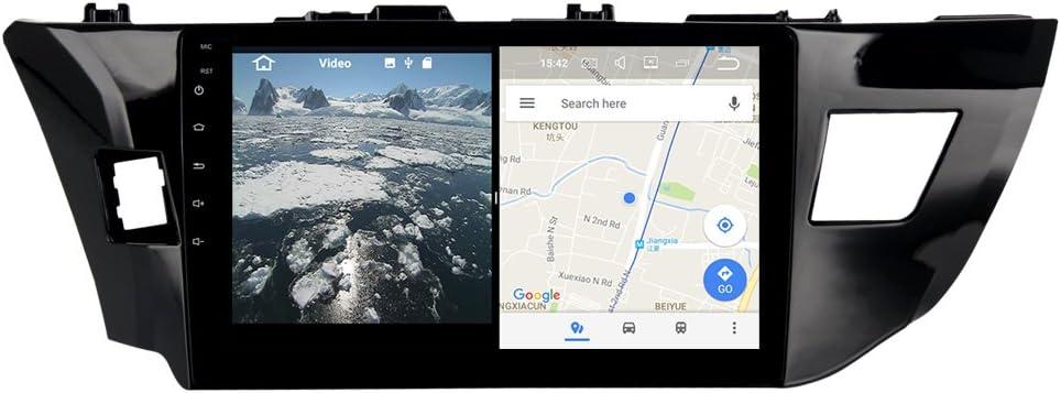 YongHang Android 7.1 Stereo 2 Din Unit for Toyota Corolla 2014 2015 2016 Radio Navi GPS Indash Radio Auto Auido Headunit WiFi Map Navigation