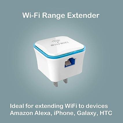 Amazon com: IoTeck Meross Wi-Fi Range Extender 300Mbps