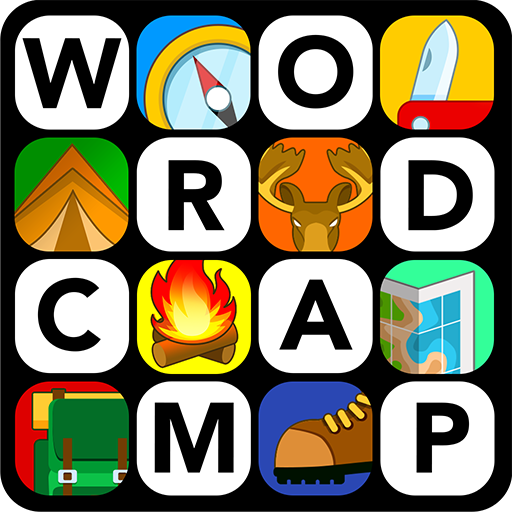 Word CampTM - Brain Puzzle Game (Make A Word With The Letters Listed)