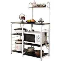 soges Multi-Functional Kitchen Baker's Rack Utility Microwave Oven Stand