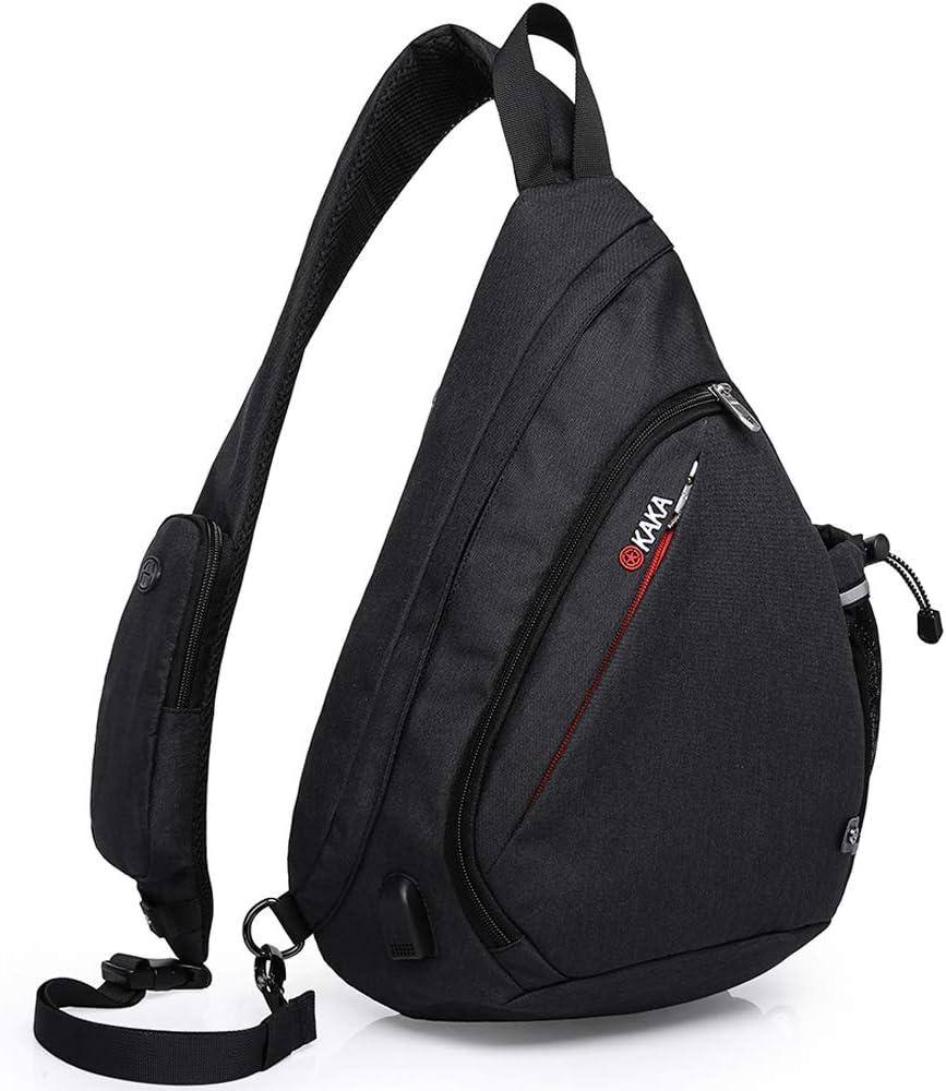 TM Ecokaki Outdoor Multifunction Casual Shoulder Bag Canvas Messenger Crossbody Bag Hiking Bag
