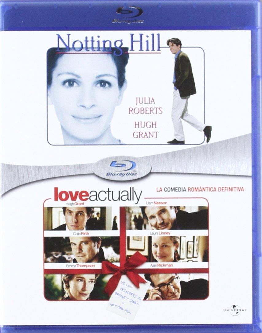 Pack: Notting Hill + Love Actually [Blu-ray]: Amazon.es: Julia Roberts, Hugh Grant, Hugh Bonneville, Rhys Ifans, Emma Chambers, James Dreyfus, Tim McInnerny, Gina McKee, Dylan Moran, Alec Baldwin, Matthew Modine, Liam Neeson,