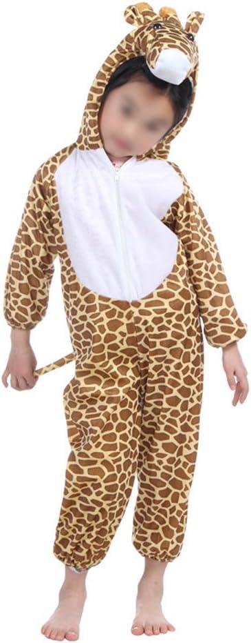 Disfraz de jirafa para niños, disfraces de animales para Halloween ...