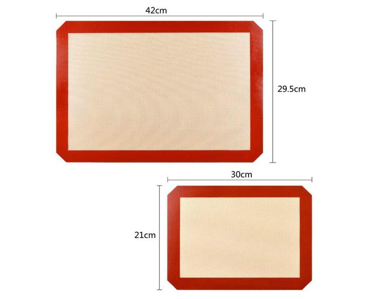 Nouveau style 1 tapis de cuisson antiadhé sif en silicone lavable, antidé rapant et ré utilisable, en silicone de kangqi antidérapant et réutilisable