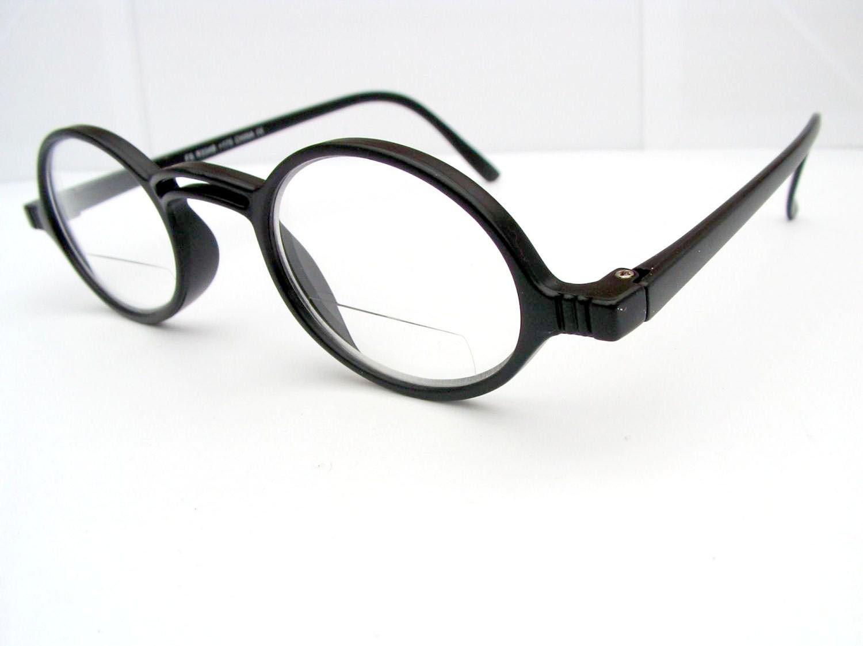 899ad946f7 NEW RETRO GEEK STYLE BIFOCAL READING GLASSES ROUND FRAME BLACK TORTOISESHELL  WG1 (+1.50