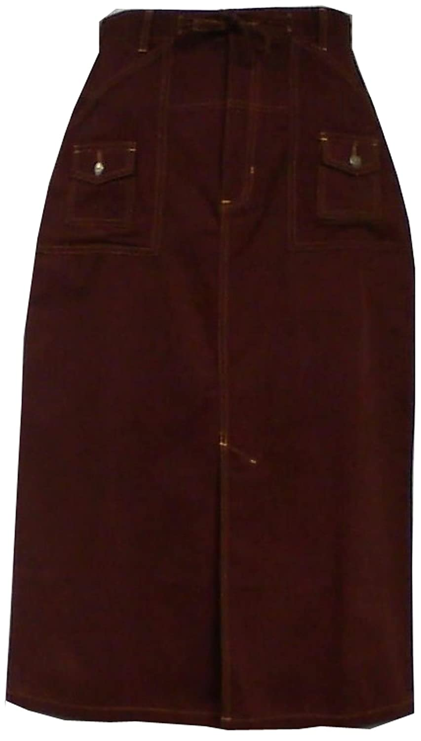 Decoraapparel SKIRT レディース B079VXG5ZF 4X|Wine Maroon Wine Maroon 4X