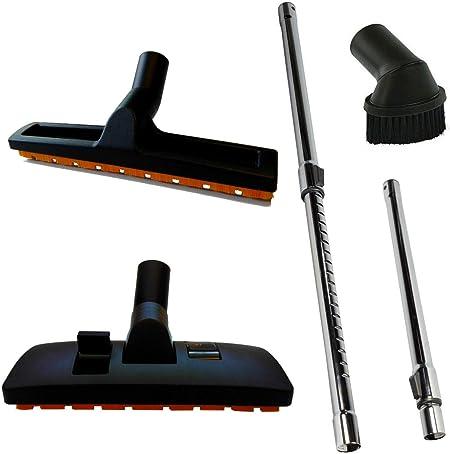 Maxorado - Tubo de aspiradora 35 mm + Boquilla combinada + Cepillo para el Polvo + Boquilla para parqué para aspiradora Nilfisk: Amazon.es: Hogar