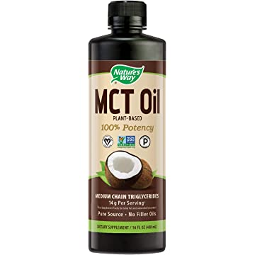 Nature's Way 100% Potency Pure Source MCT Oil