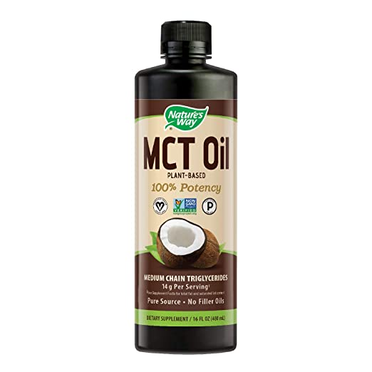 Nature's Way 100% Potency Pure Source MCT Oil from Coconut