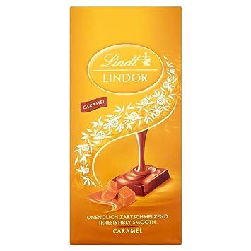 Lindt Lindor Caramelo (100g) (Paquete de 2)