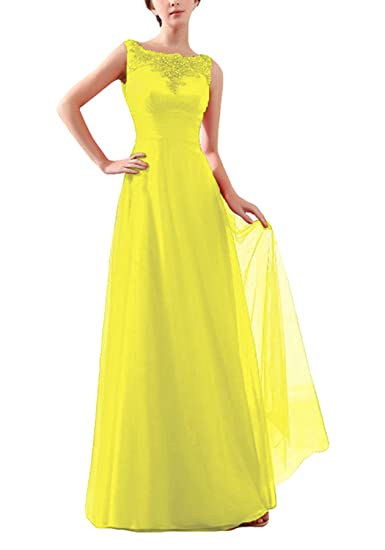 Women Fashion Sexy Long Sexy Prom Dresses bride toast dress - bridesmaid wedding dress (16, yellow): Amazon.co.uk: Clothing