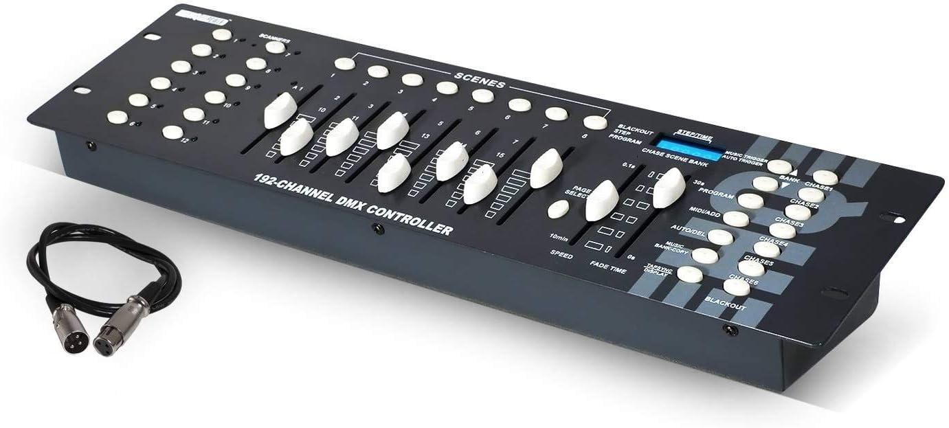 Junta DMX 192 canales VDPC145 HQ Power: Amazon.es: Instrumentos ...