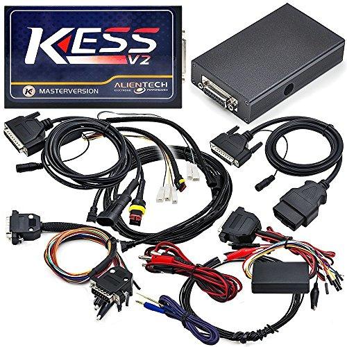 KESS OBD ECU Chip Tuning Tool Alientech KESS OBD tuning kit,Ktag V2.25 FW V4.036 ECU Programmer No Tokens - Programmer Ecu