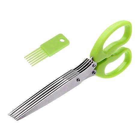 Amazon.com: Tijeras de cocina, tijeras para hierbas ...