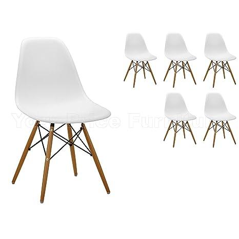 Sedie Moderne In Plastica.6 Sedie Moderne Ispirate A Eiffel Sedili In Plastica Colore