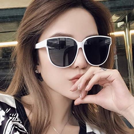 Yangjing-hl Gafas de Sol Fox Head Wild Jelly Color Gafas de ...