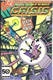 CRISIS ON INFINITE EARTHS. #4 (Death Of The Monitor) This Is The End Of The World