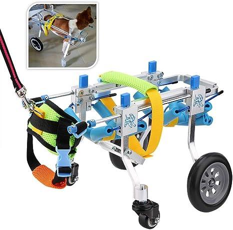 Amazon.com: Silla de ruedas para mascotas de apoyo completo ...