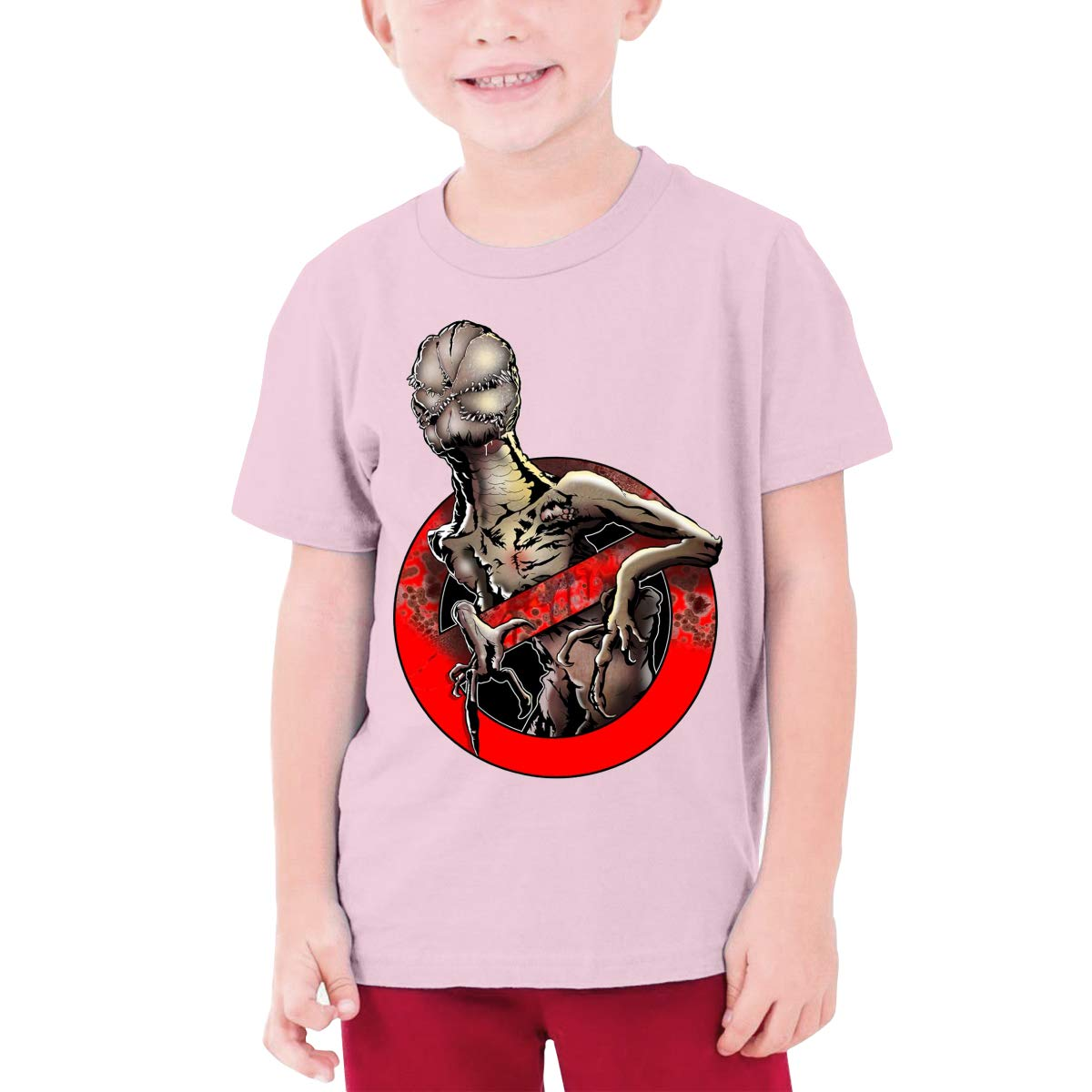 Magicuas Kid T Shirt S-S-Stranger Thing-s Fan Short-Sleeve Tops Children Tee Teenage Halloween Tshirt for Boy Girl Black