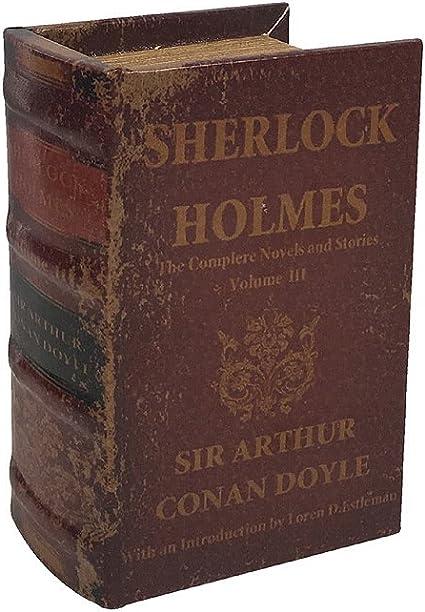 zeitzone hohles 1 Compartimento Secreto Libro Sherlock Holmes Libro escondite Antiguo Estilo de 15 x 10 x 6 cm: Amazon.es: Juguetes y juegos