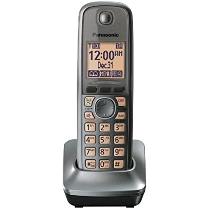 amazon com panasonic kx tga410m extra handset for 4130 series rh amazon com Panasonic Cordless Phone User Manual 2.4 GHz Panasonic KX-TG2632
