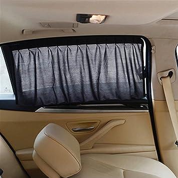 Itimo Uv Schutz Auto Vorhänge Für Seitenfenster Innenraum Zubehör Schwarz Sonnenschutz Auto Styling Auto Sonnenschutz Auto