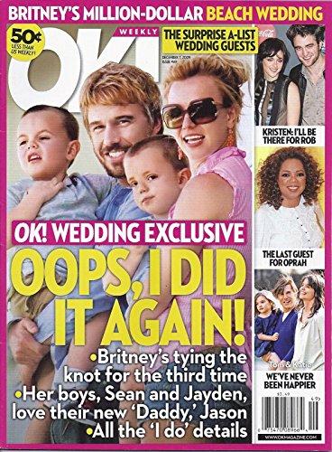 Britney Spears & Jason Trawick l Kristen Stewart & Robert Pattinson l Oprah Winfrey l Tom Cruise, Katie Holmes & Suri Cruise - December 7, 2009 - Gossip Sophia Bush