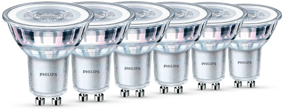 Philips LED Classic 4.6 W GU10 Glass LED Spot Light (Replacement for ...