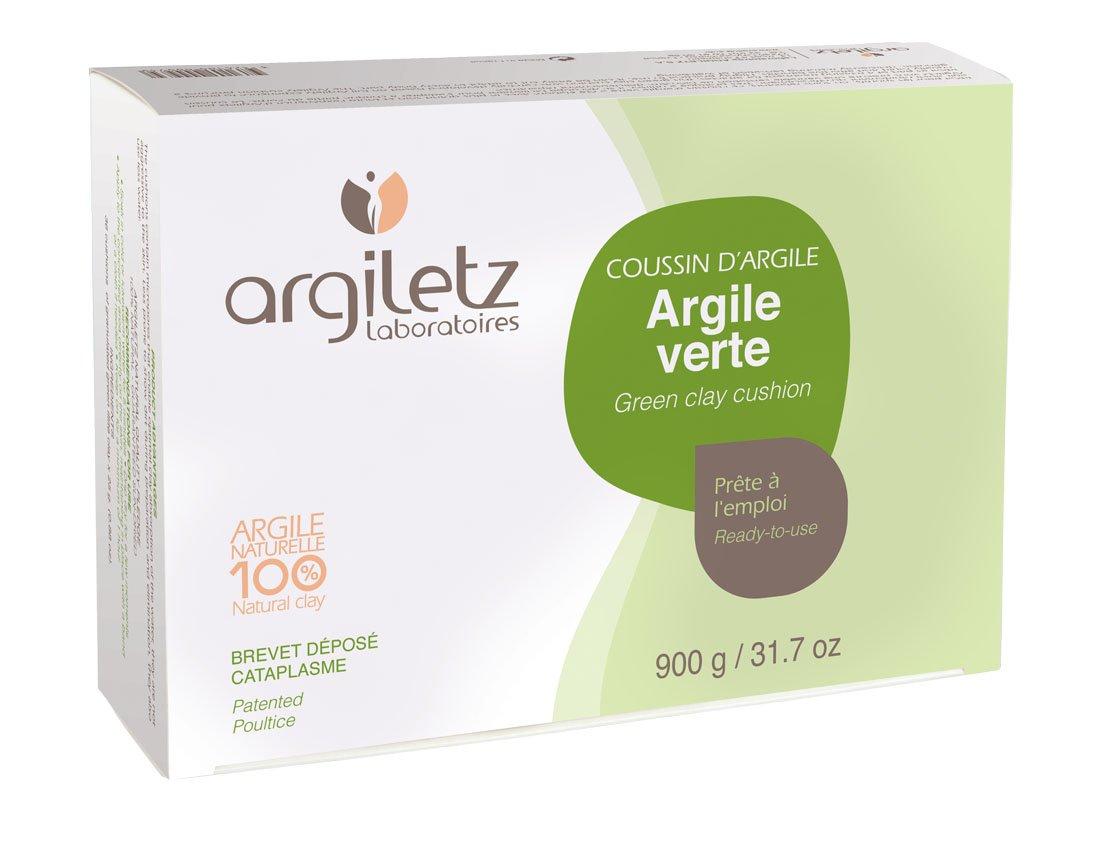 Argiletz Coussin avec 36 Alvéoles Argile Vert 900 g 4982942